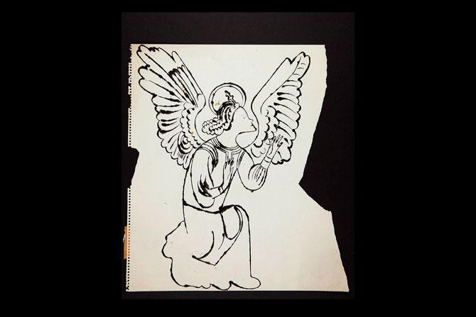 Рождественские рисунки Энди Уорхола выставили на аукцион (фото 2)