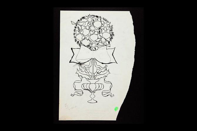 Рождественские рисунки Энди Уорхола выставили на аукцион (фото 3)