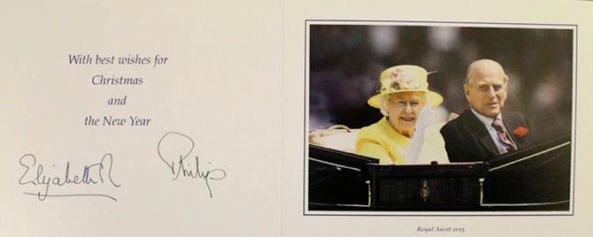 В Сети появились коллекционные рождественские открытки Елизаветы II (фото 7)