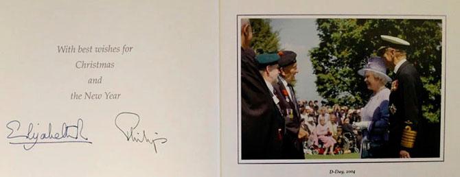 В Сети появились коллекционные рождественские открытки Елизаветы II (фото 8)