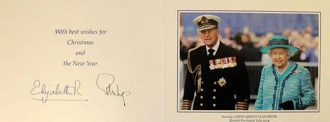В Сети появились коллекционные рождественские открытки Елизаветы II (фото 12)