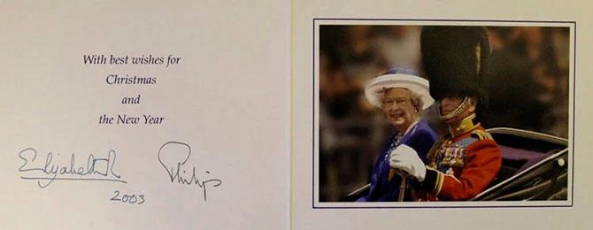 В Сети появились коллекционные рождественские открытки Елизаветы II (фото 10)