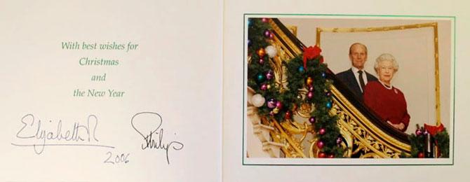 В Сети появились коллекционные рождественские открытки Елизаветы II (фото 3)