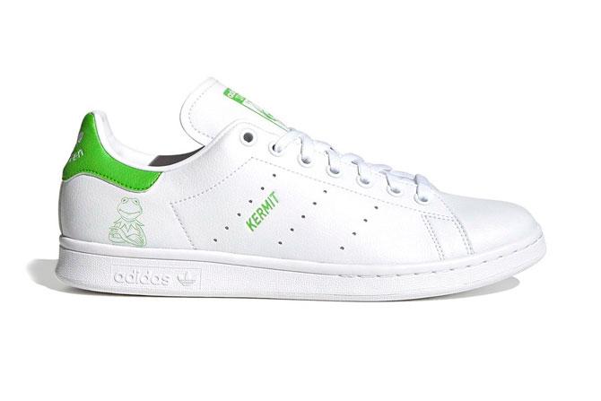adidas выпустил кроссовки Stan Smith с лягушкой Кермитом (фото 1)
