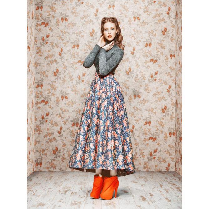 Ульяна Сергеенко поделилась выкройкой юбки из коллекции 2011 года (фото 1)