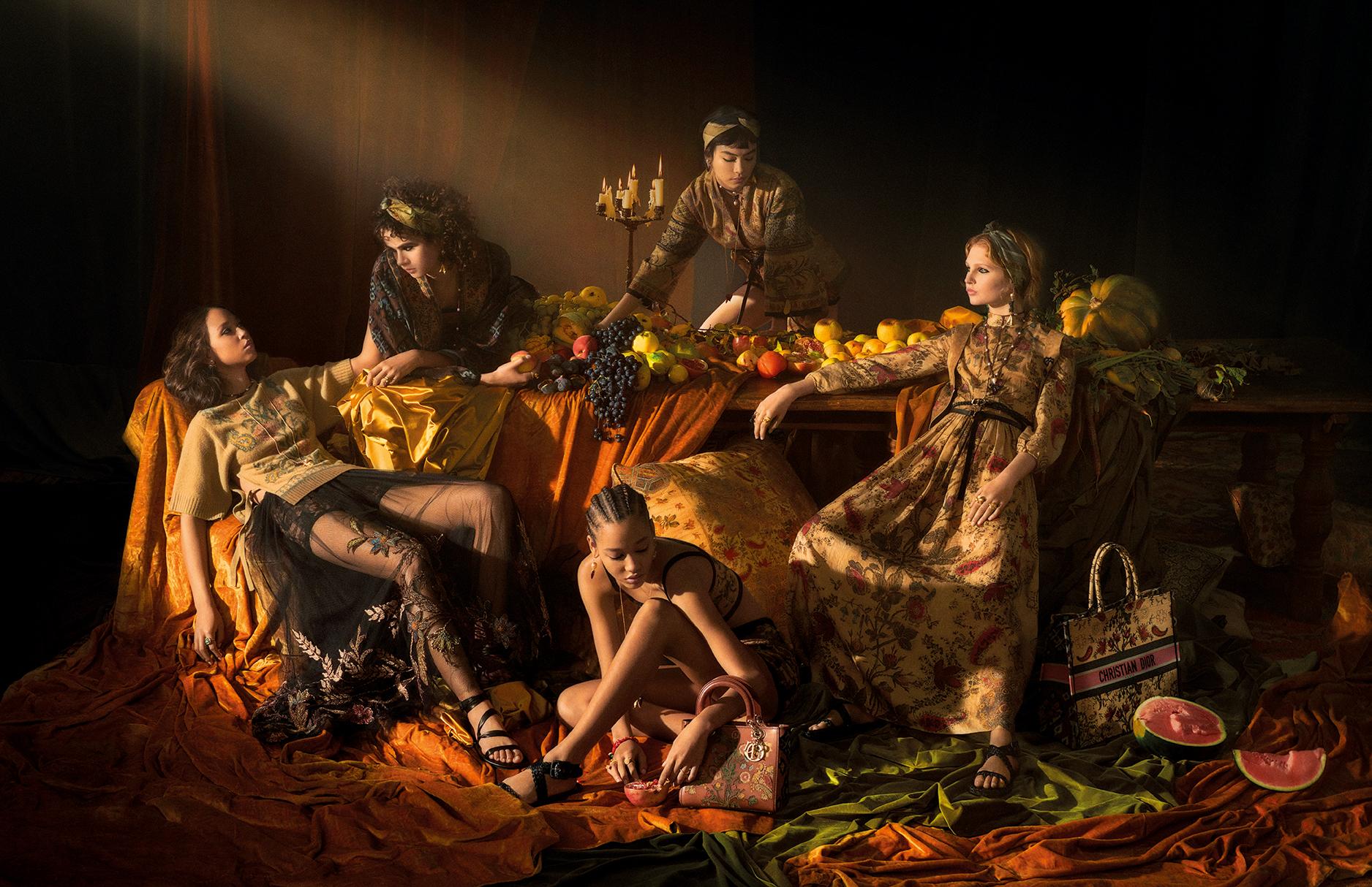 Новую кампанию Dior вдохновили картины Караваджо (фото 1)
