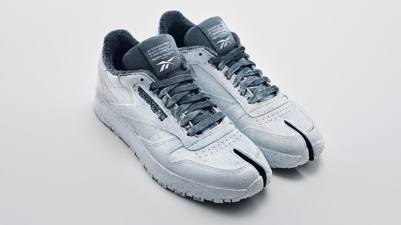 Новые кроссовки-таби Reebok x Maison Margiela поступят в продажу 30 января (фото 1)