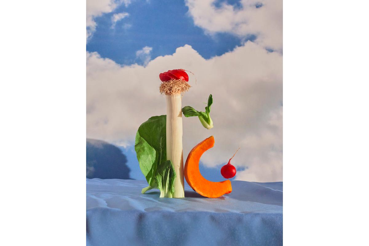 Художники сделали работы из овощей и фруктов для проекта онлайн-галереи Sample и Даниловского рынка (фото 4)