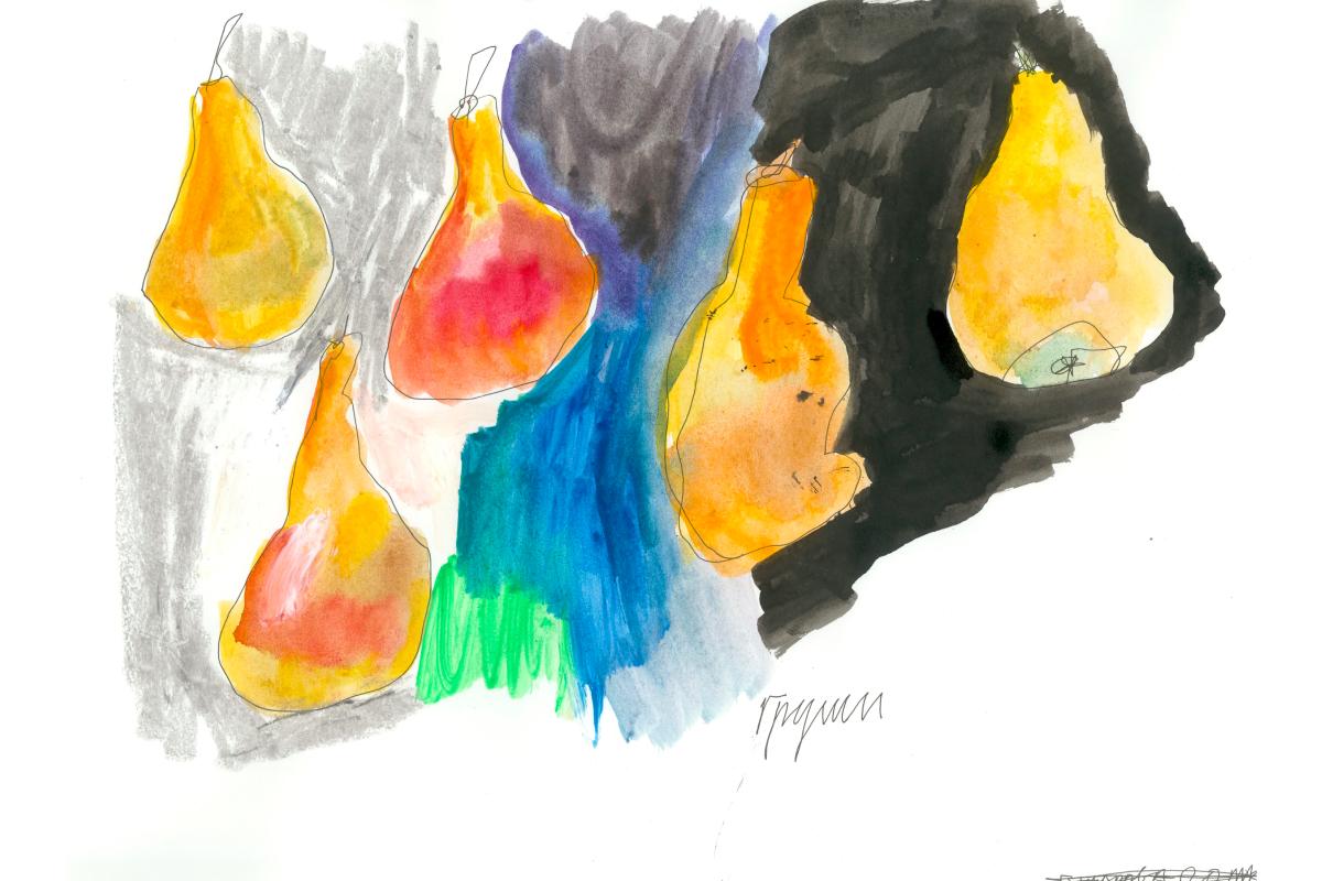 Художники сделали работы из овощей и фруктов для проекта онлайн-галереи Sample и Даниловского рынка (фото 2)