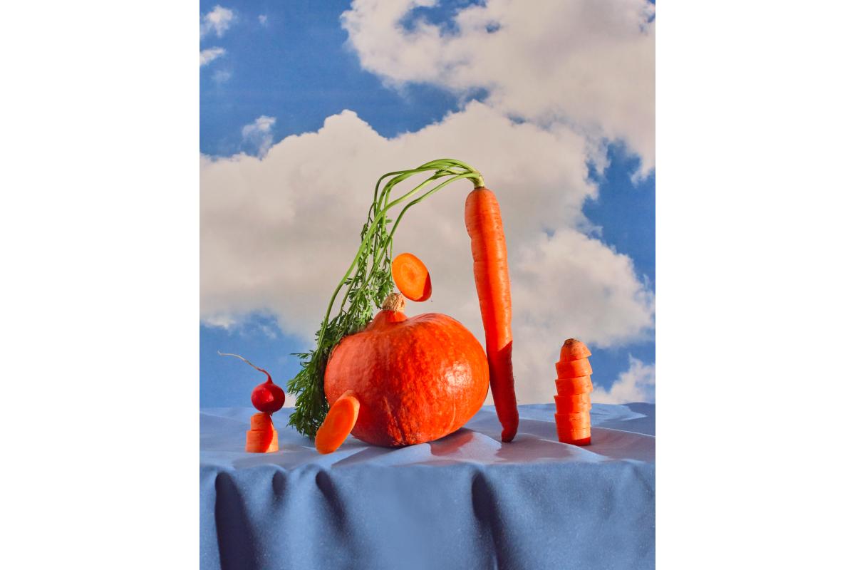 Художники сделали работы из овощей и фруктов для проекта онлайн-галереи Sample и Даниловского рынка (фото 6)