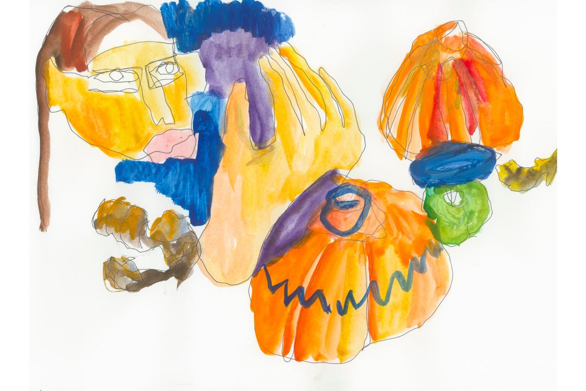 Художники сделали работы из овощей и фруктов для проекта онлайн-галереи Sample и Даниловского рынка (фото 3)