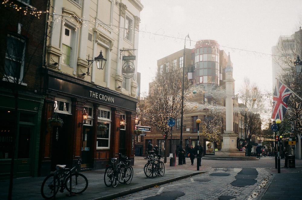 Зима в Лондоне: как город встречал 2021-й под третий локдаун (фото 3)