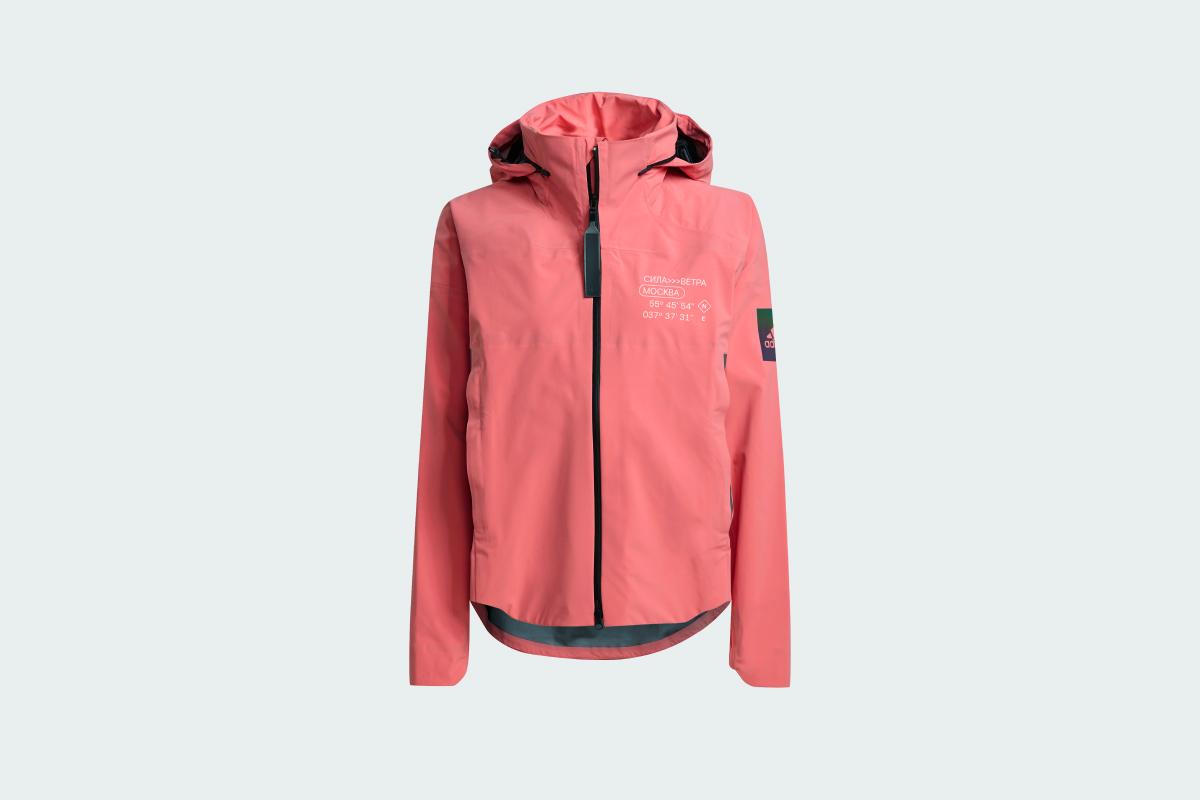adidas и «Сила ветра» выпустили розовую куртку для яхтинга (фото 1)
