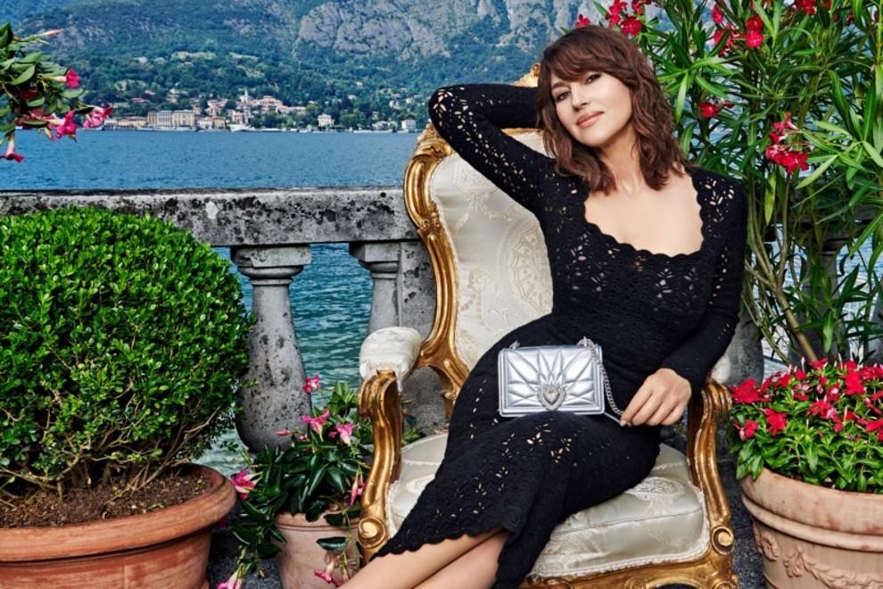 Моника Беллуччи снялась в кампании Dolce & Gabbana на озере Комо (фото 2)