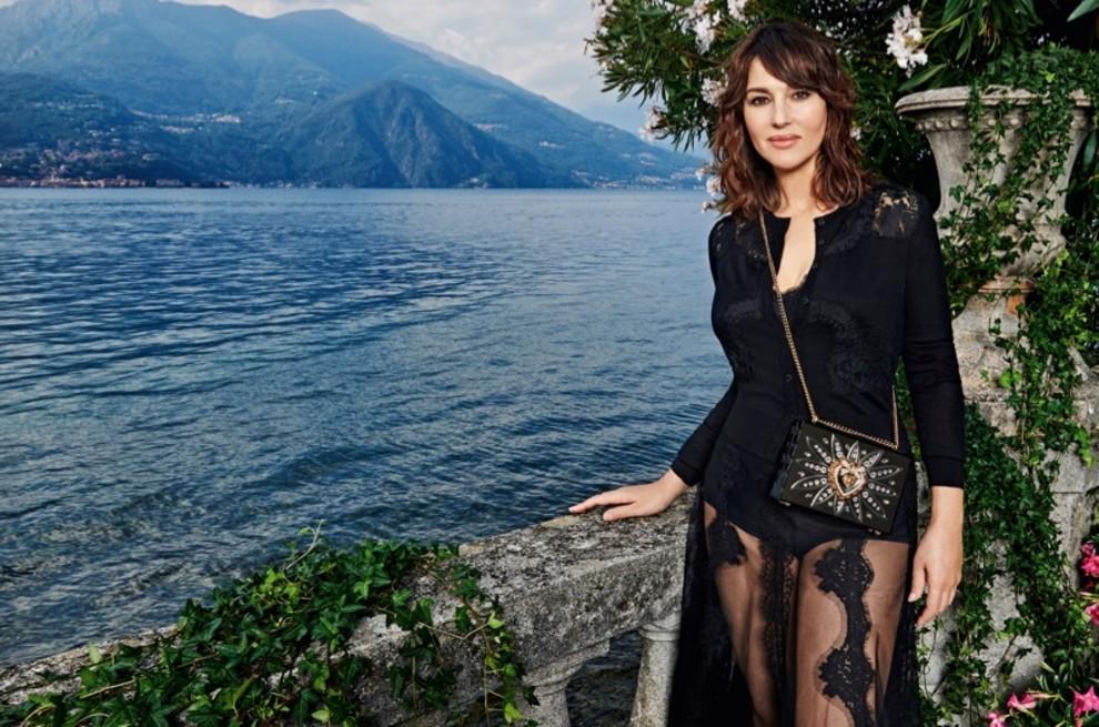 Моника Беллуччи снялась в кампании Dolce & Gabbana на озере Комо (фото 6)