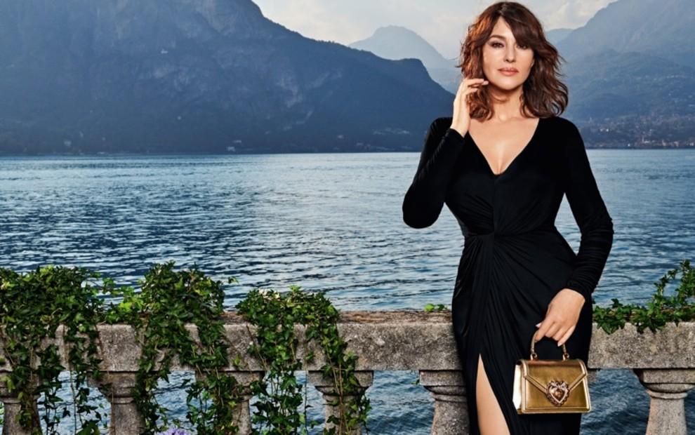 Моника Беллуччи снялась в кампании Dolce & Gabbana на озере Комо (фото 4)