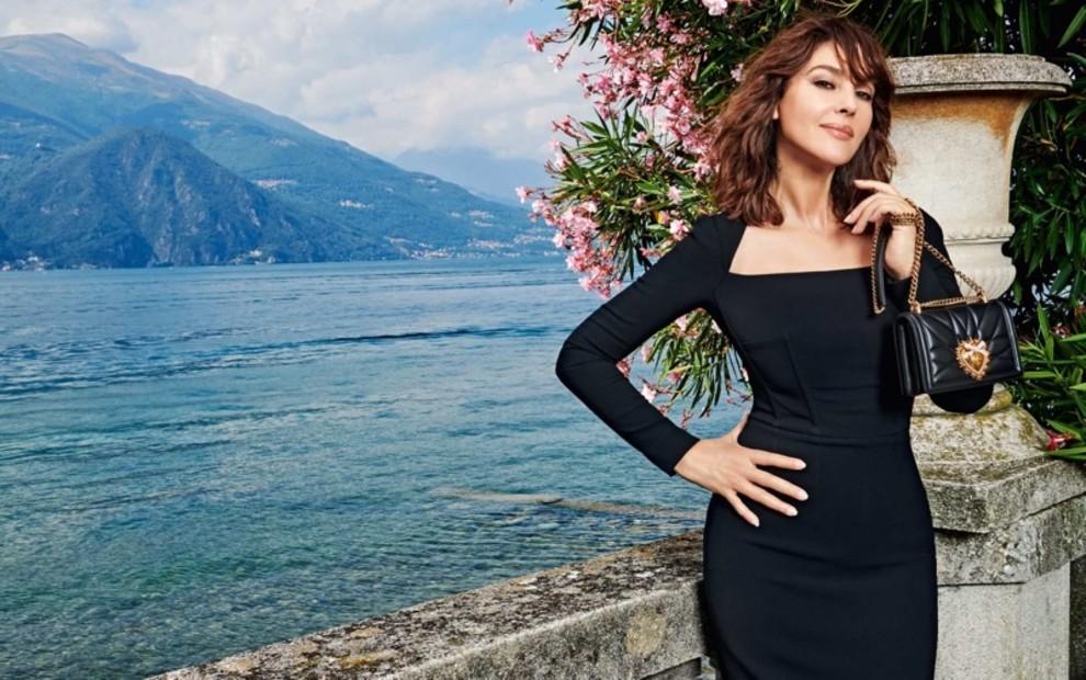 Моника Беллуччи снялась в кампании Dolce & Gabbana на озере Комо (фото 5)