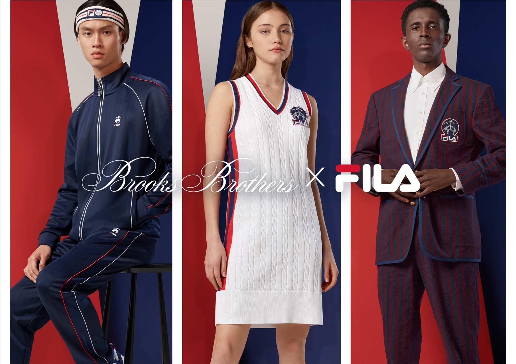 Brooks Brothers и Fila выпустили совместную коллекцию, вдохновленную теннисом (фото 2)