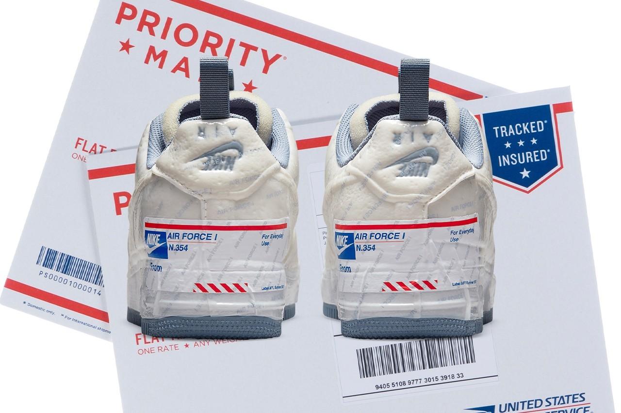 Nike официально выпустит кроссовки вместе с Почтовой службой США (фото 1)