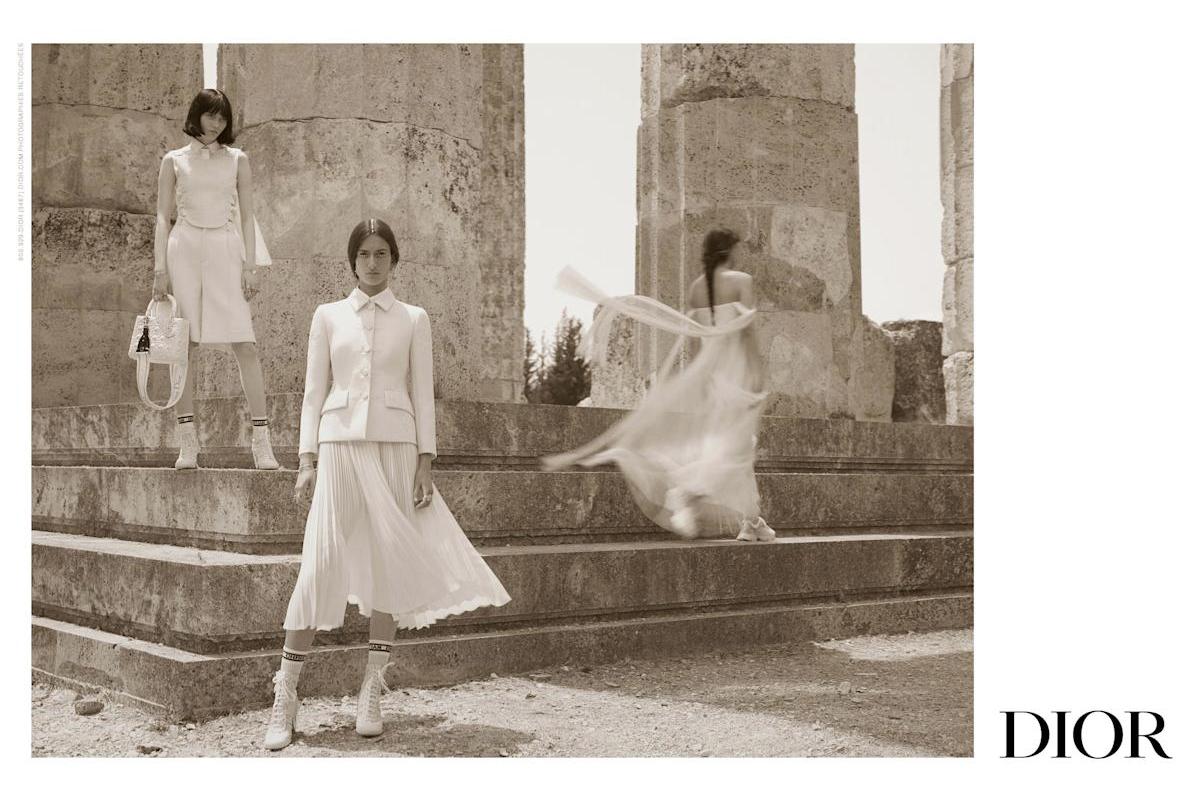 Dior показал кампанию новой круизной коллекции — ее съемки прошли в Греции (фото 1)