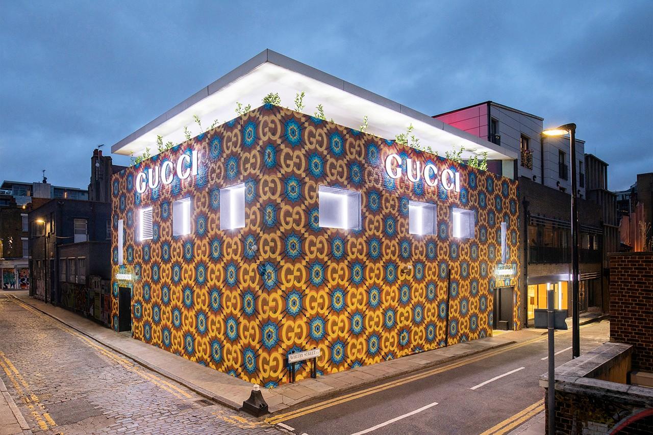Gucci открыл экспериментальный поп-ап в Лондоне (фото 1)