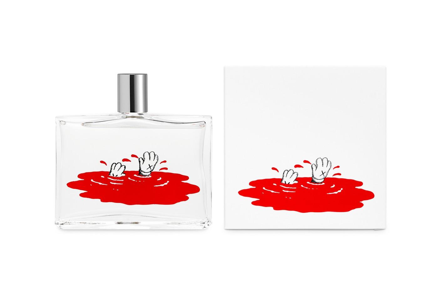 Художник KAWS создал аромат в коллаборации с Comme des Garçons (фото 1)