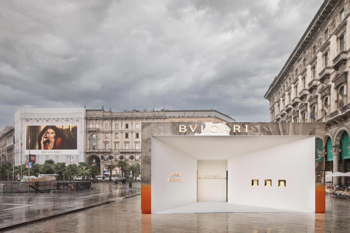 Bvlgari представил интерактивную инсталляцию, вдохновленную природой (фото 1)