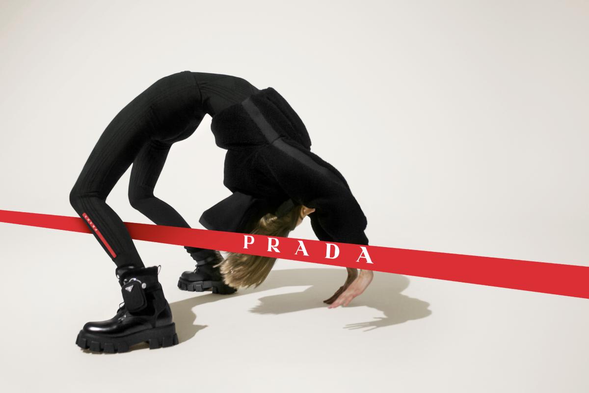 Prada показал новую осенне-зимнюю кампанию Linea Rossa (фото 1)