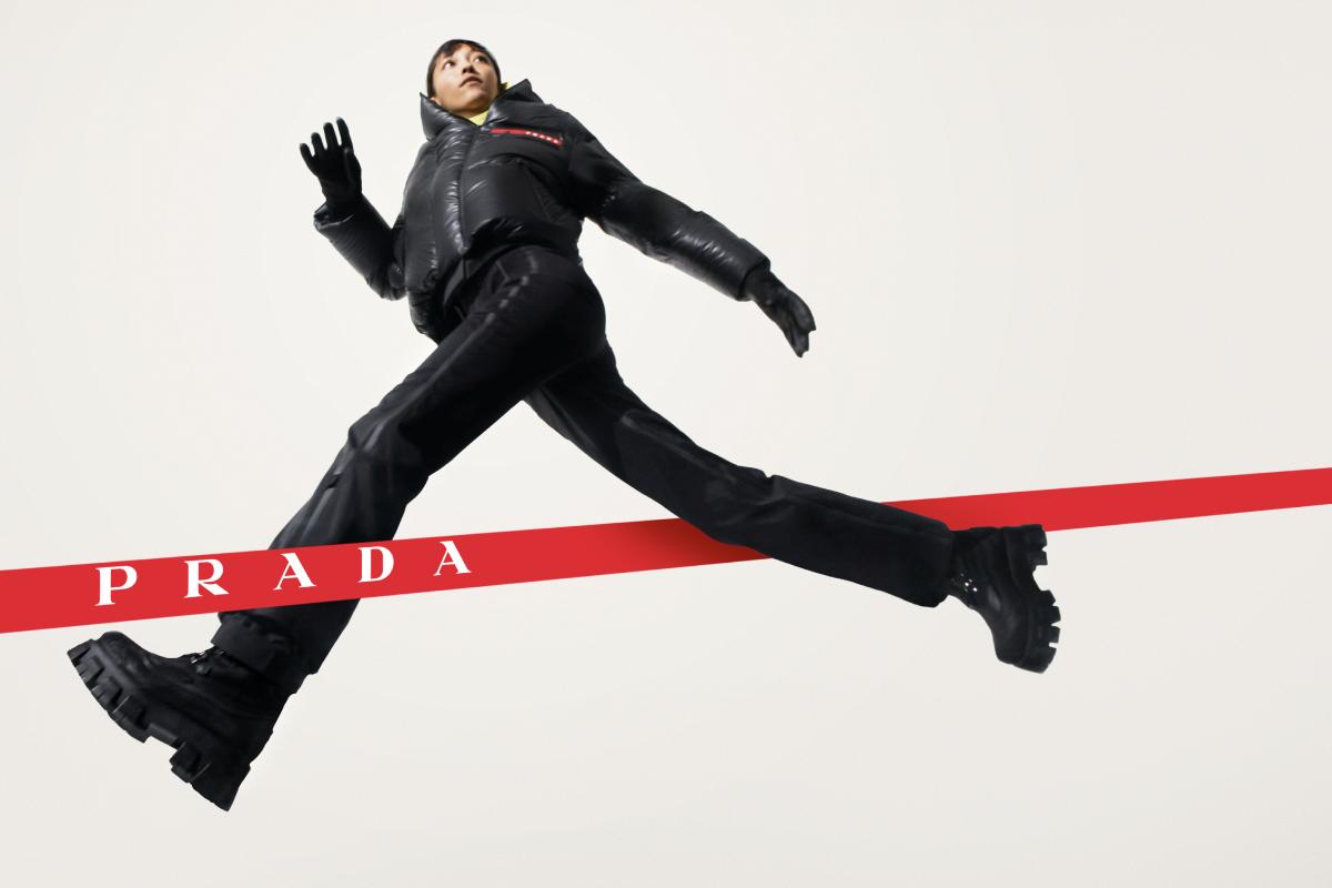 Prada показал новую осенне-зимнюю кампанию Linea Rossa (фото 2)