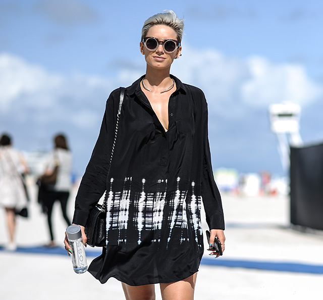 Street style с ярмарки Art Basel Miami Beach 2014 (фото 6)