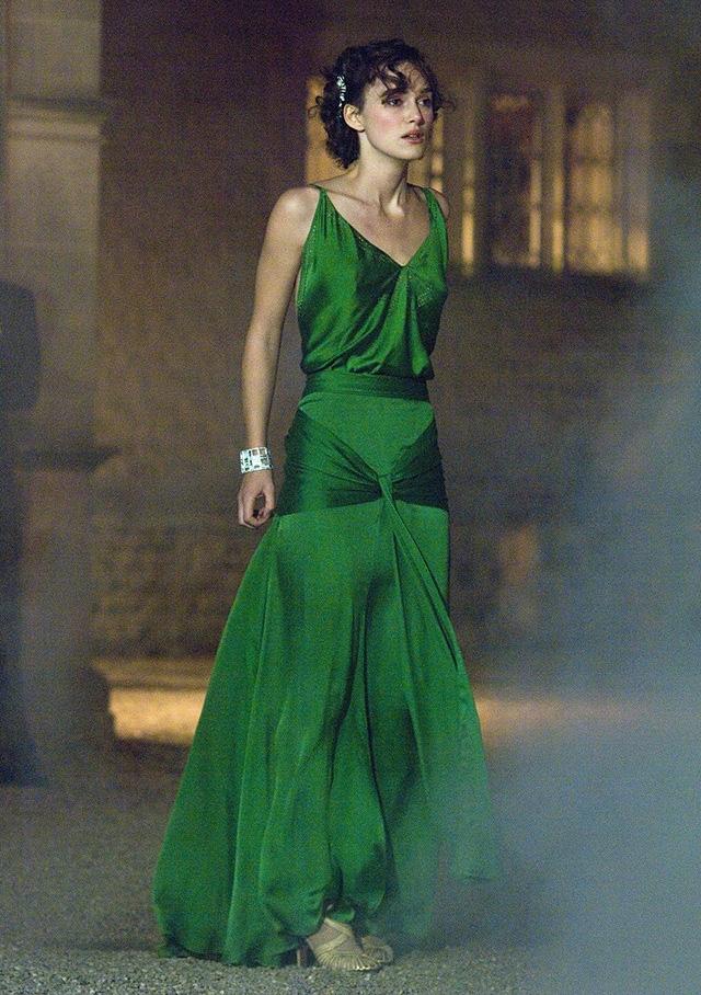 Кира найтли искупление в зеленом платье