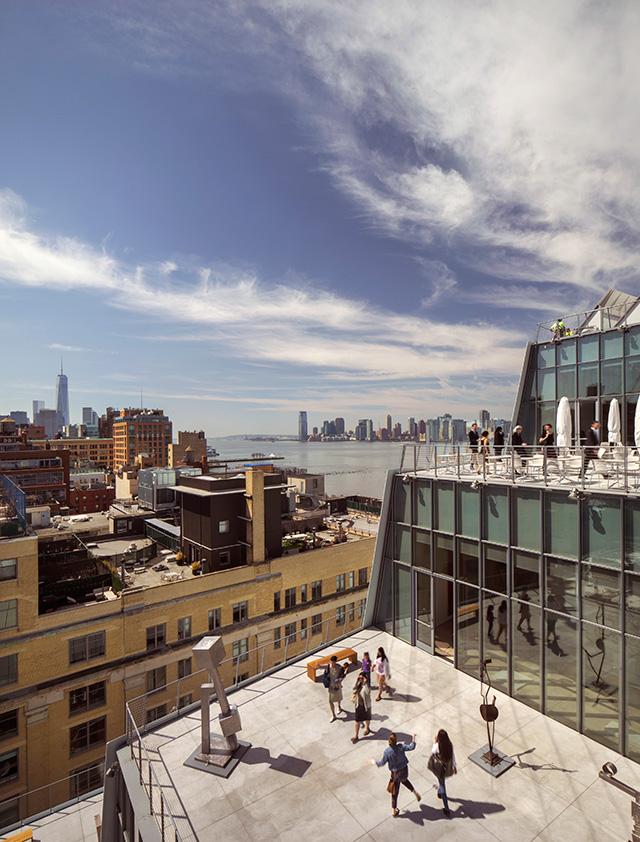 Где живет искусство: новое здание Музея Уитни в Нью-Йорке (фото 4)