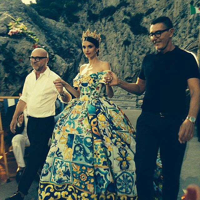 Dolce & Gabbana Alta Moda: кутюрная феерия на Капри (фото 5)