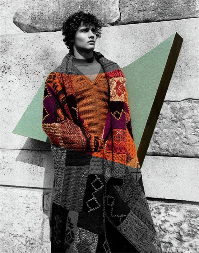 Джоан Смоллс в рекламной кампании Missoni, осень-зима 2014 (фото 6)
