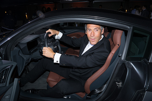 Гости презентации новой Audi R8 (фото 14)