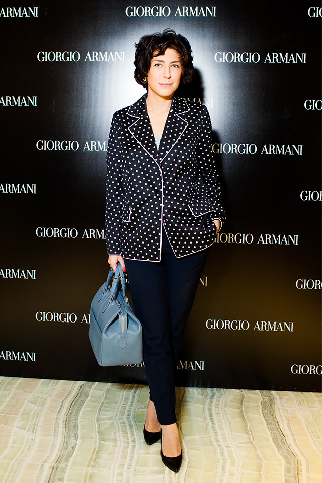 Открытие нового бутика Giorgio Armani в Третьяковском проезде (фото 7)