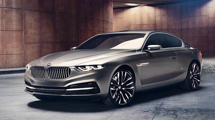 Новый BMW Pininfarina Gran Lusso Coupe