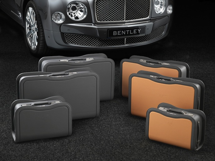 Набор багажа Bentley Mulsanne luggage set