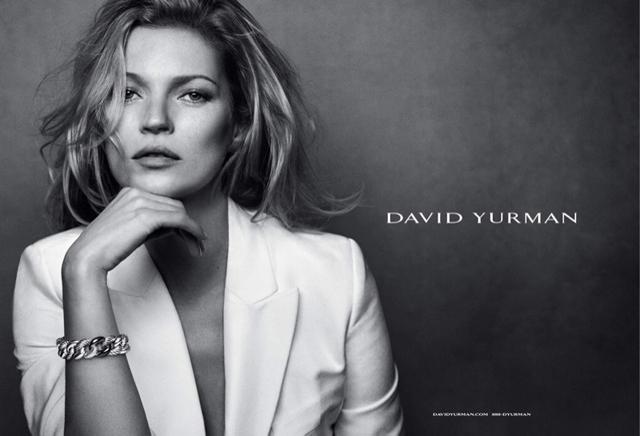 Кейт Мосс в рекламной кампании David Yurman (фото 1)