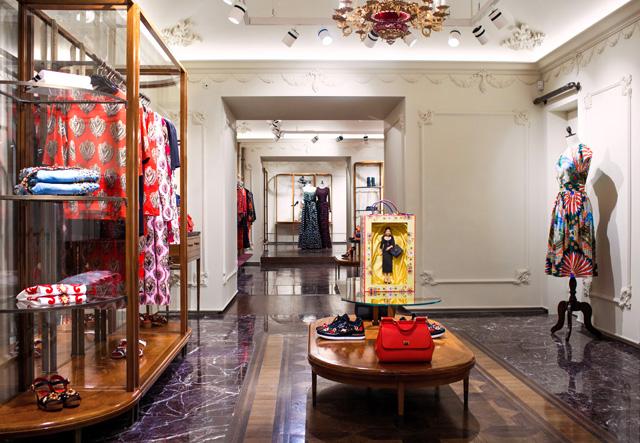 Dolce & Gabbana открывают новый бутик в Москве (фото 4)