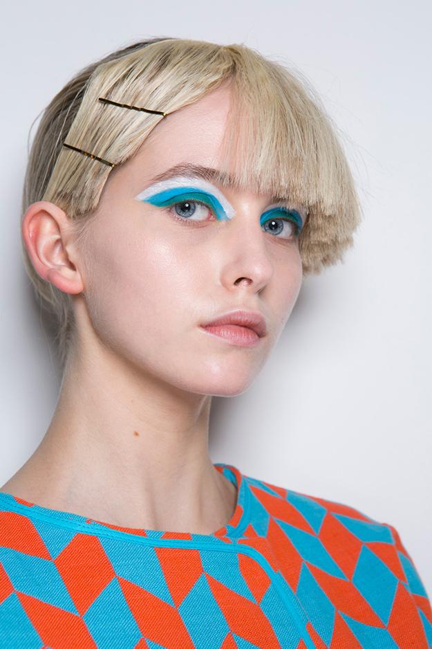 Прически 2017: тенденции с Недели моды в Лондоне (фото 3)