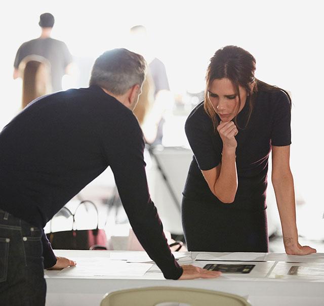 Виктория Бэкхем и Estée Lauder готовят коллекцию макияжа (фото 1)