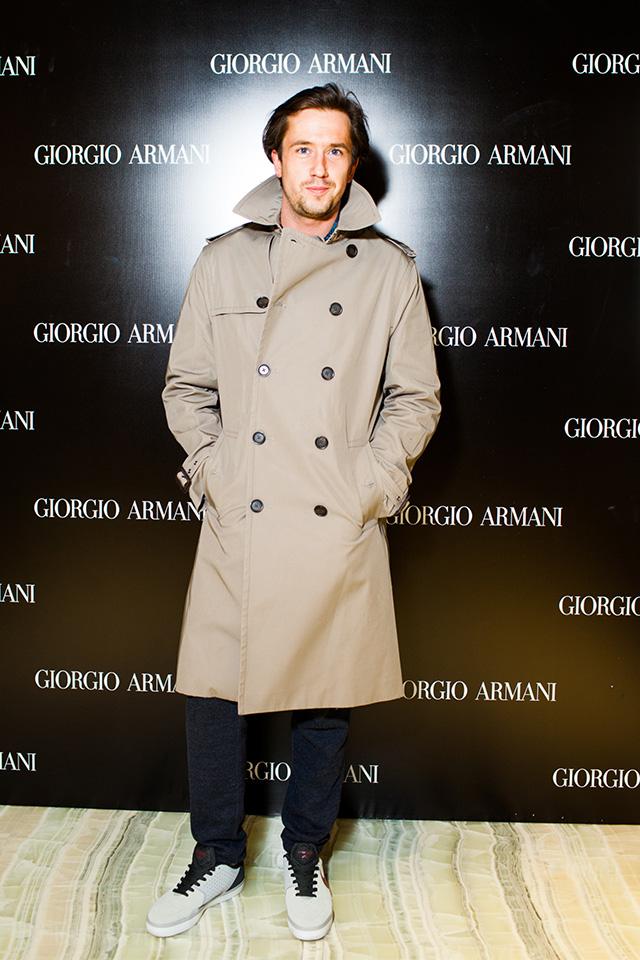 Открытие нового бутика Giorgio Armani в Третьяковском проезде (фото 6)