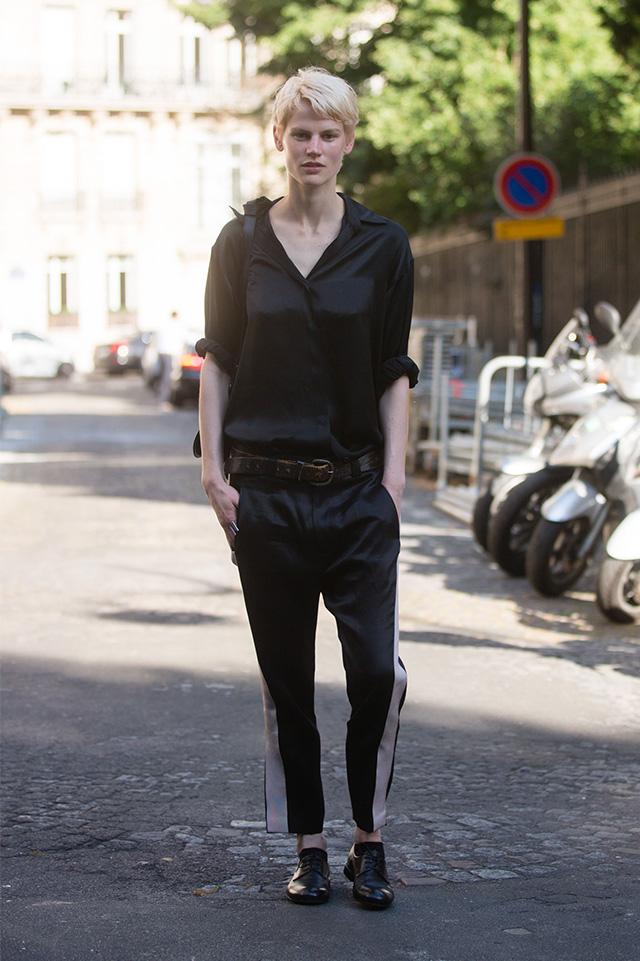 Неделя мужской моды в Париже, весна-лето 2016: street style. Часть 1 (фото 10)