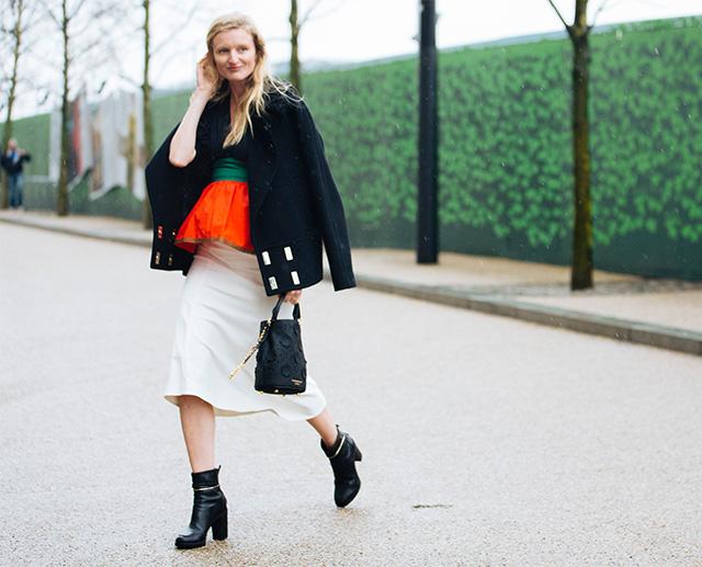 Неделя моды в Лондоне, осень-зима 2016: street style. Часть 1 (фото 1)