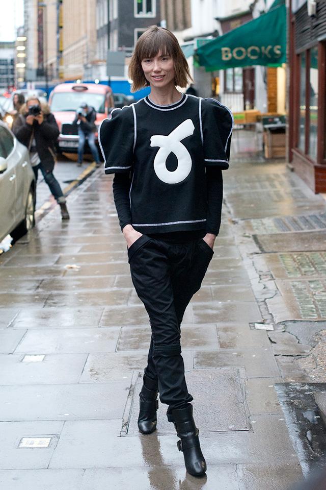 Неделя моды в Лондоне, осень-зима 2016: street style. Часть 1 (фото 6)