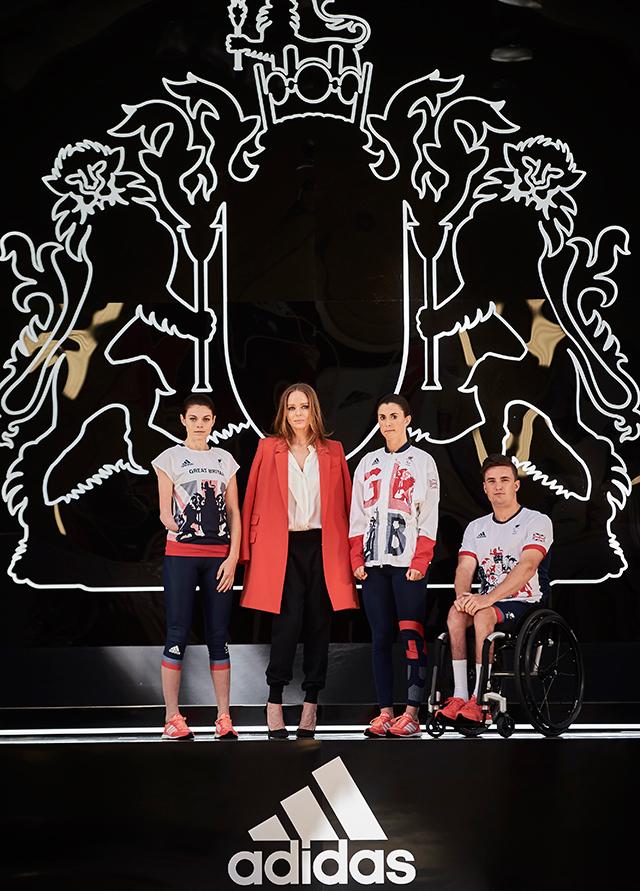 Стелла МакКартни показала новую форму олимпийской сборной Британии (фото 2)