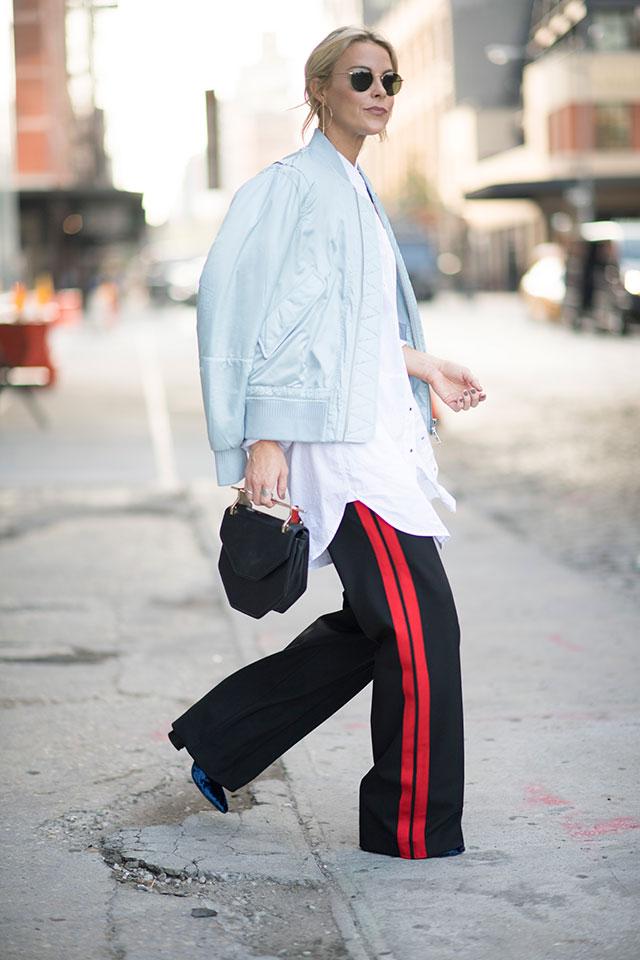 Что носят на Неделе моды в Нью-Йорке: 1 часть (фото 3)