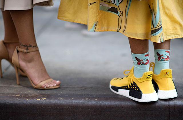 Что носят на Неделе моды в Нью-Йорке: 1 часть (фото 6)