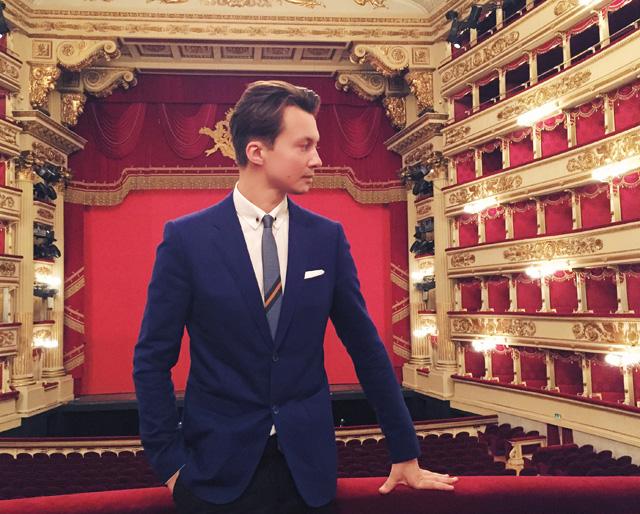показ коллекции в La Scala (фото 4)